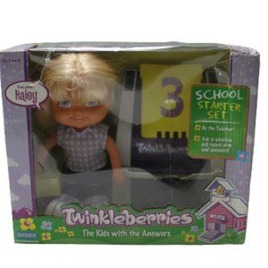 Twinkleberries School Starter Kit Haley Doll  NEW